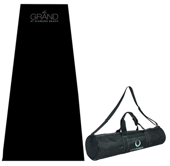 B8055 - The Premier Double Thickness Full Length Yoga Mat and Case
