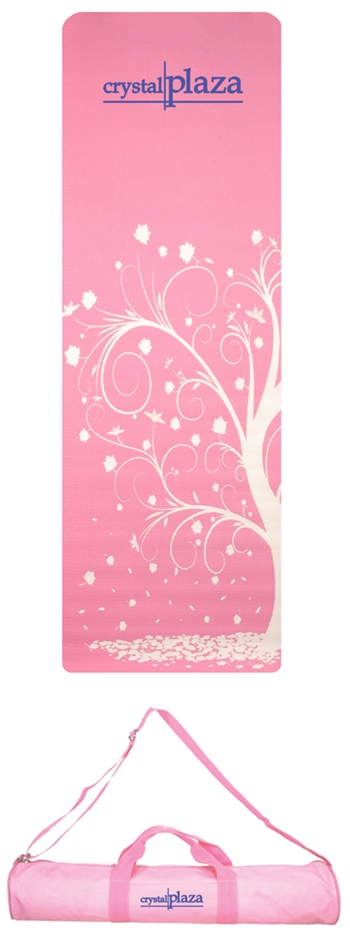 B8059 - The Full Length Patterned Yoga Mat and Case