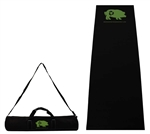 B8060 - The Full Length Black Yoga Mat and Upscaled Case