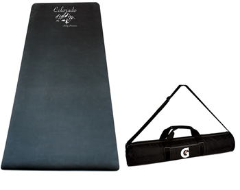 B8075 - Natural Rubber Yoga Mat with Case