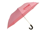 "Z1348 - The 41"" Auto Open Folding Umbrella with Hook Handle"
