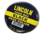 Lincoln USMC Black Stain Wax Shoe Polish