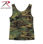 WOMEN'S CAMO STRETCH TANK