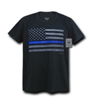 THIN BLUE LINE FLAG TEE