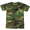 Children's Woodland Camo t-shirt