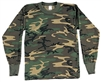 Children's Long Sleeve Camo t-shirt