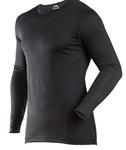 Traditional Long John Classic Top - Black