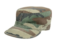 VINTAGE CAMO FATIGUE CAP