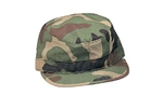 CAMO ARMY FATIGUE CAP