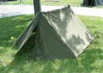 NEW G.I. COMPLETE SHELTER HALF - PUP TENT