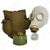 GREY RUSSIAN GAS MASK W/FILTER