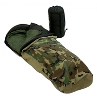 GI GORE-TEX 4-PC MODULAR SLEEPING BAG - WOODLAND CAMOUFLAGE