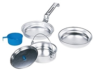 TEXSPORT 5pc HEAVY DUTY ALUMINUM  MESS KIT