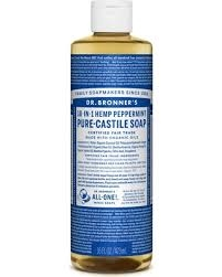 16 OZ DR BRONNER'S PEPPERMINT SOAP