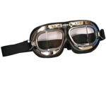 ROYAL AIR FORCE GOGGLES W/CHROME FACE
