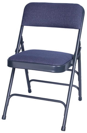 Illinois Metal Padded Chairs Metal Stacking Folding Chairs Vinyl Padded Met