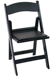 Discount Black Resin Folding Chair