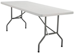 "30 x 96"" Plastic Folding Table"