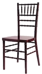 QUALITY  Mahogany Chiavari Chair at Discount Wholesale Prices - Hotel Chiavari Chair