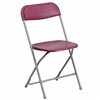 Discount Prices Red Folding Poly Chair
