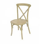 LimeWash X Back Banquet Chair
