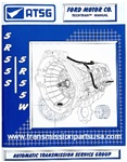 5R55S 5R55W Transmission repair manual 2002-on