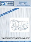 Mercedes 722.1 & 722.2 Transmission repair manual
