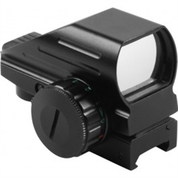 Micro Red Dot Scope with 4 Reticules and Dual Illumination and Brightness Settings