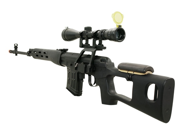 Svd dragunov 3 9x40 scope package spring airsoft sniper rifle