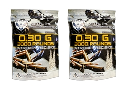 0.3g  BB 6mm Airsoft 6,000 Bag MetalTac