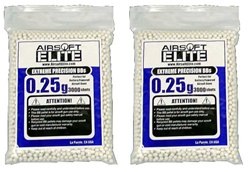 0.25g Airsoft Elite BB 6mm 6000 Bag