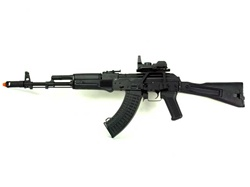 AK-74M Tactical w/ Red Dot Sight Package Full Metal Airsoft Electric Gun