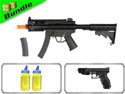 Degeneration Response Team Bundle with Galaxy KP5-M + P968+ Spring Pistol + 4,000 .12g BB's