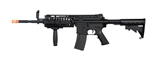 CYMA M4 S-System Electric Airsoft Gun with Metal Version 2 Gearbox, RIS Handguard, Adjustable Stock, and Flip-Up Front and Rear Iron Sight
