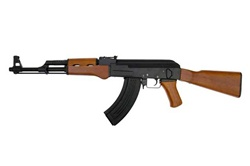 AK 47 Full Metal & Real Wood Airsoft Electric Gun Upgraded [CM042]