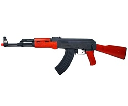 AK 47 Blowback Full Metal & Real Wood Airsoft Electric Gun Upgraded [CM046]