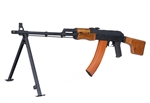 CYMA RPK AK-47 Light Machine Gun, Real Wood,Full Metal, Electric Airsoft Gun (CM052)