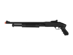 CYMA ZM61 M500 Spring Airsoft Pump Shotgun with Pistol Grip