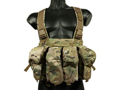 MetalTac 7-Pouch Chest Rig System (Multi-Camo)