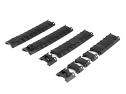 DBoys Armored Modular Rail Covers (Black)