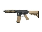 G&G GR4 CQB-S Mini Electric Blow Back Airsoft Gun (Black/Tan)