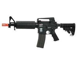 G&G Combat Machine M16 Carbine Black CQB Airsoft