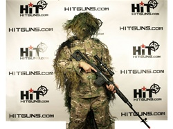 MetalTac BDU style Woodland Camouflage Ghillie Suit