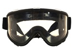 MetalTac Extra Large Full Seal Airsoft Safety Protection Goggles (Clear Lenses)