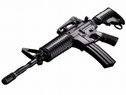 ICS M4A1 Retractable Stock Olympic Arms Airsoft Electric Gun