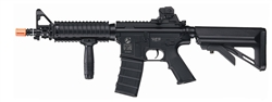 ICS M4 CQB R.I.S. w/ Molded Magazine and Crane Stock AEG Airsoft Gun (Sportline)