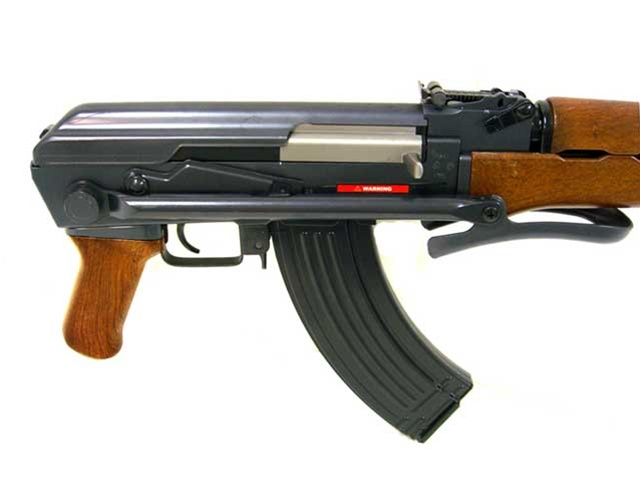 JG AKS 47 Airsoft Electric Gun with Metal Under-Folding Stock