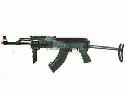 JG AK47 Tactical RIS Folding Stock Black Airsoft Electric Gun