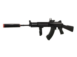 JG AK47 RAS Socmod III Suppressed Full Metal Airsoft Gun