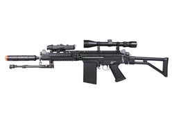 JG 3000 RAS Designated Marksmen Rifle Package with Suppressor, Scope, and Bipod Package